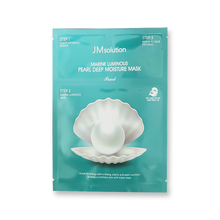 Load image into Gallery viewer, JM Solution Marine Luminous Pearl Deep Moisture Mask, 10 Sheets - Tokyo-On