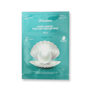 JM Solution Marine Luminous Pearl Deep Moisture Mask, 10 Sheets - Tokyo-On