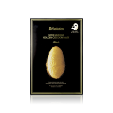 Load image into Gallery viewer, JM Solution Water Luminous Golden Cocoon Mask, 10 Sheets - Tokyo-On