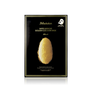JM Solution Water Luminous Golden Cocoon Mask, 10 Sheets - Tokyo-On