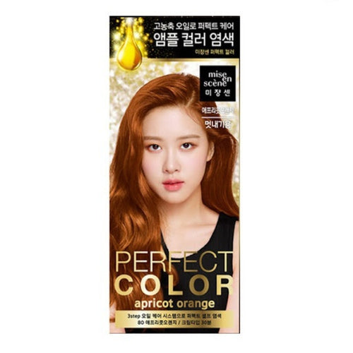 Mise En Scene Perfect Color Hair Dye #80 Apricot Orange - Tokyo-On