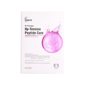 Dr. Wonjin W. Up-Tension Peptide Care Mask & Facial Wash, (10 Sheets + 80ml) - Tokyo-On