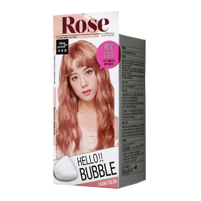 Mise En Scene Hello Bubble Hair Dye #11G Rose Gold - Tokyo-On