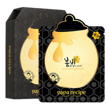 Load image into Gallery viewer, Papa Recipe Bombee Black Honey Mask, 10 Sheets - Tokyo-On