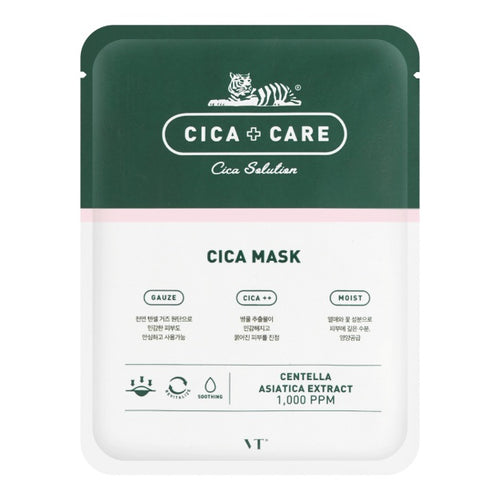 VT CICA Care Centella Asiatica Extract Anti-Acne Mask, 10 Sheets - Tokyo-On