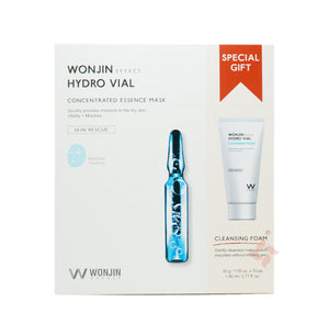 Wonjin Effect Hydro Ampoule Concentrated Essence Mask & Facial Wash, (10 Sheets + 80ml) - Tokyo-On