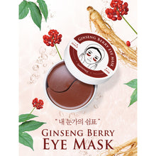 Load image into Gallery viewer, Shangpree Ginseng Berry Eye Mask, 60 Sheets - Tokyo-On