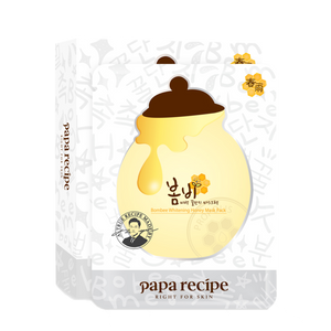 Papa Recipe Bombee Whitening Honey Mask, 10 Sheets - Tokyo-On