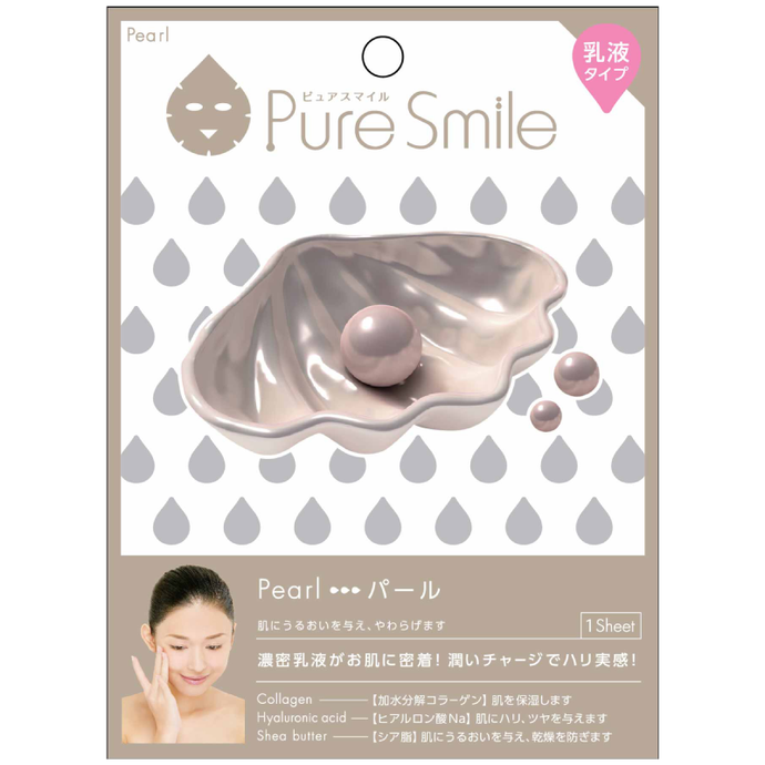SunSmile Pure Smile Milk Essence Facial Mask Pearl