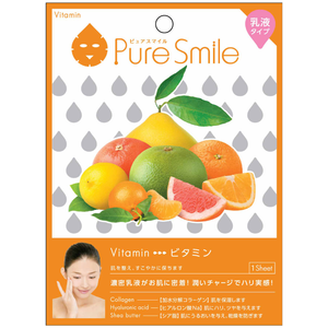SunSmile Pure Smile Milk Essence Facial Mask Vitamin
