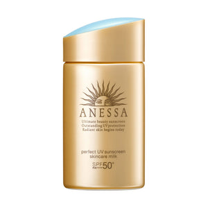 Anessa Perfect UV Sunscreen Milk Skincare Shiseido SPF50+ PA++++ 60ml - Tokyo-On