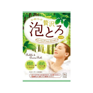 Cow Brand Bubble Aroma Bath Salt 30g | Healing Forest - Tokyo-On