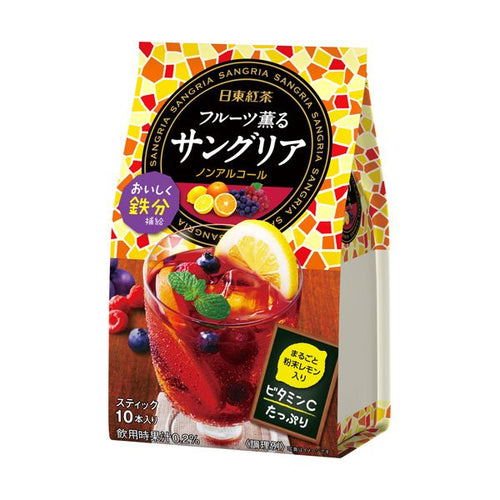Nitto Fruit Punch Tea 10 Packs (Black Tea) - Tokyo-On