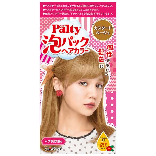 Dariya Palty Bubble Hair Dye # Custard Beige - Tokyo-On