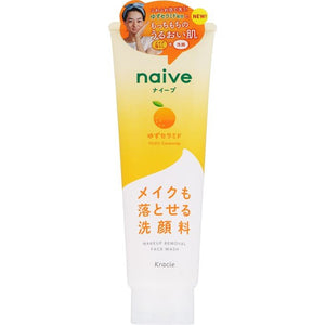 Kracie Naive Citrus Facial Cleansing Foam 130g - Tokyo-On