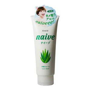 Kracie Naive Aloe Facial Cleansing Foam 130g - Tokyo-On