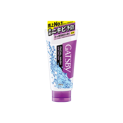 Mandom Gatsby Men's Acne Care Face Wash 130g - Tokyo-On
