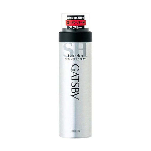 Mandom Gatsby Super Hard Set & Keep Hair Styling Spray 180g - Tokyo-On