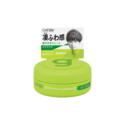 Mandom Gatsby Moving Rubber Air Rise Hair Styling Wax 15g - Tokyo-On