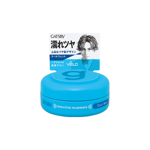 Mandom Gatsby Moving Rubber Cool Wet Hair Wax 15g - Tokyo-On