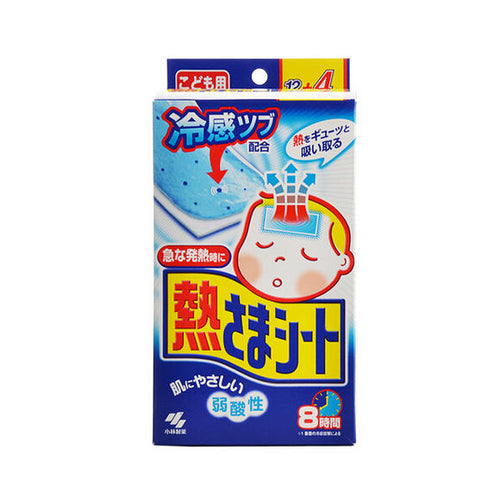 Kobayashi Cooling Gel Sheet 12 Sheets, For Children Age 2-16 - Tokyo-On