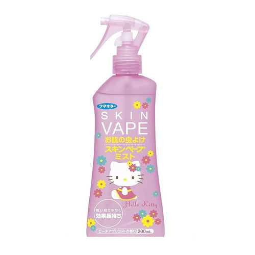 Fumakilla Hello Kitty Edition Skin Vape Mist Mosquito Repellent 200ml - Tokyo-On