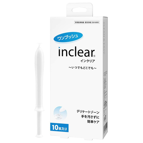 Inclear Vaginal Moisturizer and Wash, 10 Pcs - Tokyo-On