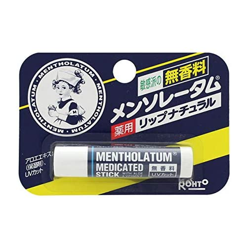 Rohto Mentholatum Medicated Lip Care Chapstick  4.5g - Tokyo-On