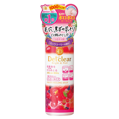 Meishoku Detclear Facial Peeling Gel (Mix Berries) 180ml - Tokyo-On
