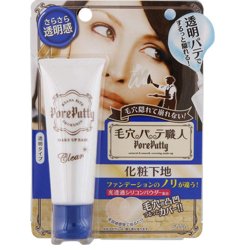 Sana Keana Pate Shokunin Pore Putty Clear Makeup Base Cream 25g - Tokyo-On