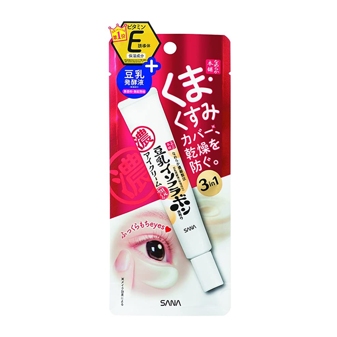 Sana Soy Milk Sheer & Moisture Eye Cream 20g - Tokyo-On