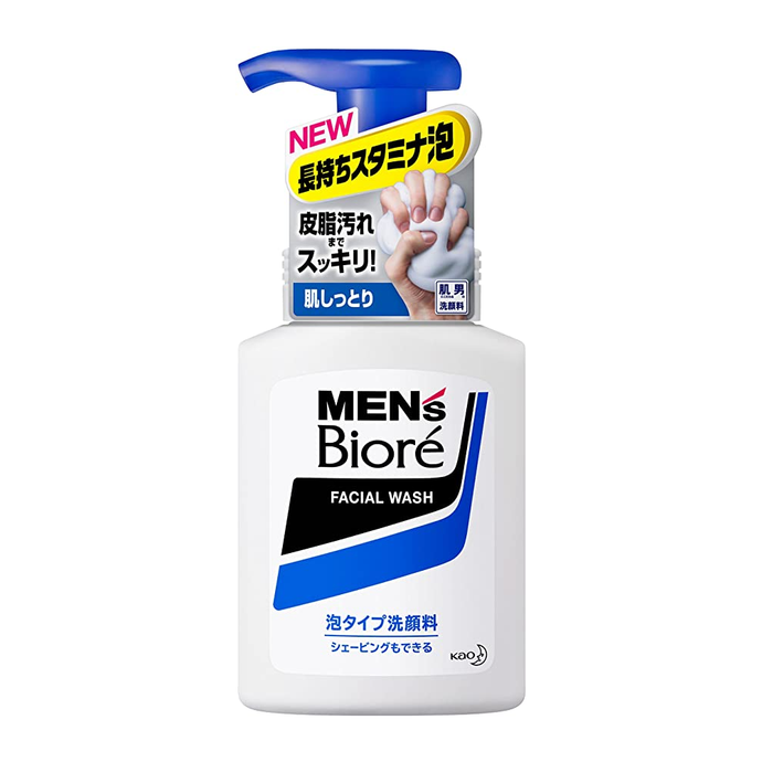 Kao Biore Men's Moisture Care Facial Foam Wash 150ml - Tokyo-On