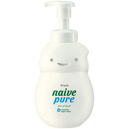 Kracie Naive Pure Foaming Body Soap 550ml - Tokyo-On