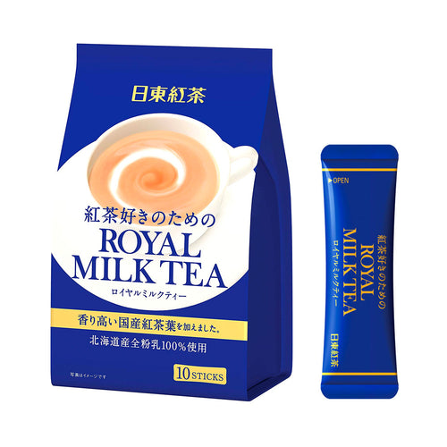 Royal Milk Tea Nitto Kocha 10 Pouch Pack 140g - Tokyo-On