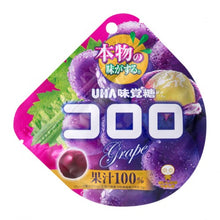 Load image into Gallery viewer, UHA Kororo Grape Gummy Fruit Snack 48g - Tokyo-On