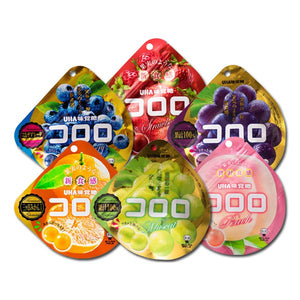UHA Kororo Strawberry Gummy Fruit Snack 40g - Tokyo-On