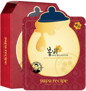 Papa Recipe Bombee Ginseng Red Honey Mask