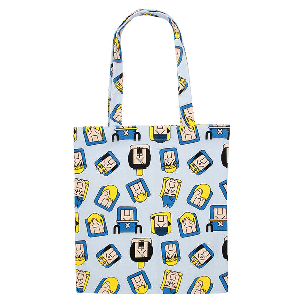 MR. BLUE TOTEBAG