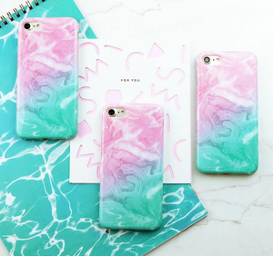 PASTEL MARBLE SOFTCASE
