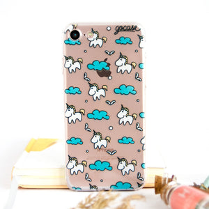 BLUE CLOUD UNICORN CASE