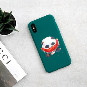 PANDA WATERMELON CASE