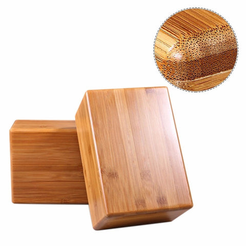 Bamboo Yoga Block - B MOVEMENT ACADEMY