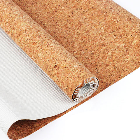 Latex Cork Yoga Mat - B MOVEMENT ACADEMY