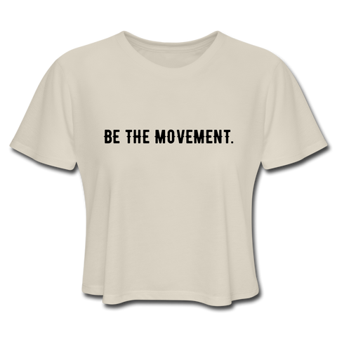Be The Movement Crop Top - B MOVEMENT ACADEMY
