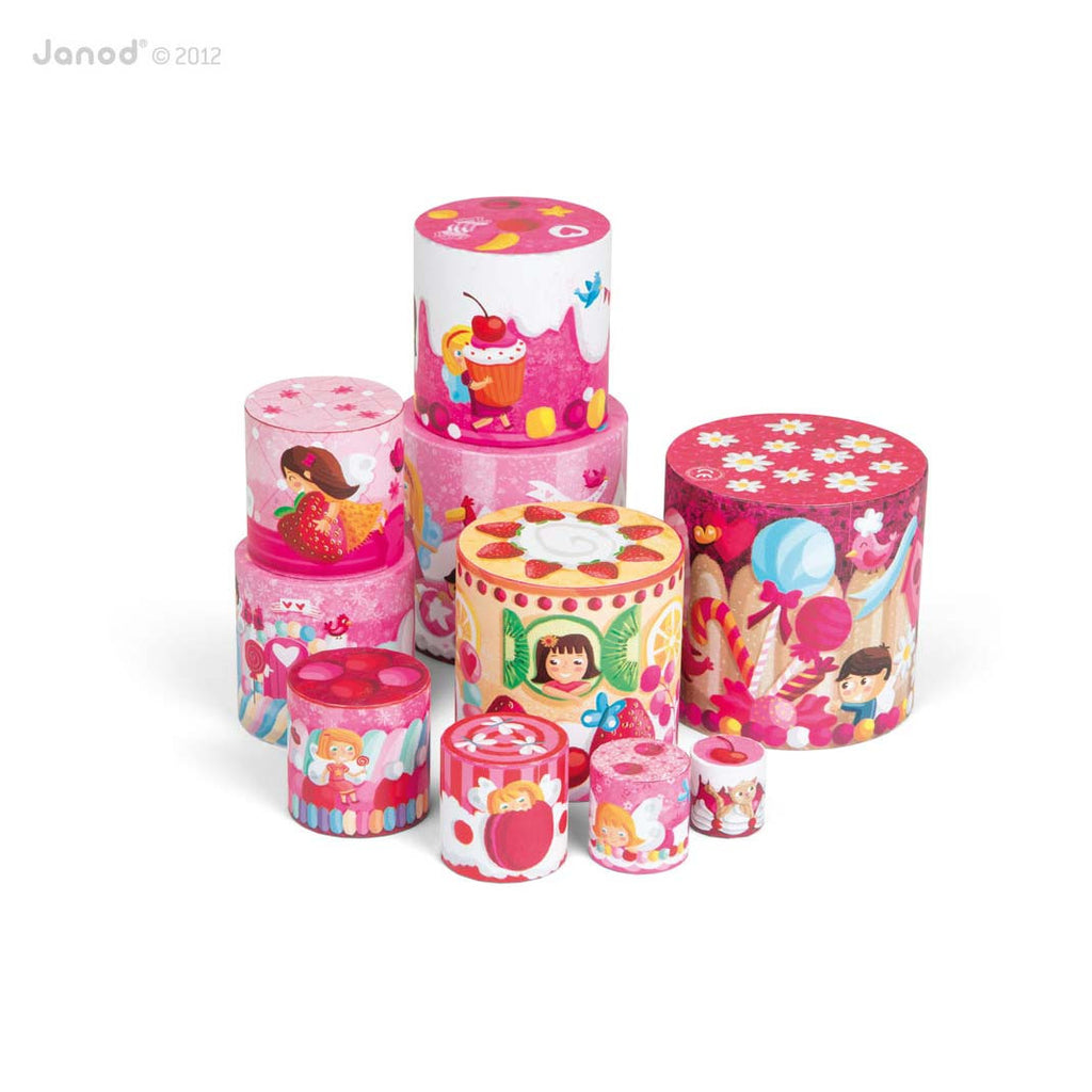 Cakes Round Stacking Pyramid