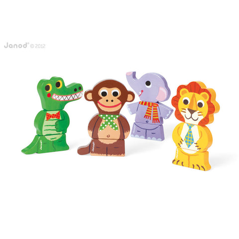 Funny Magnets - Jungle Animals