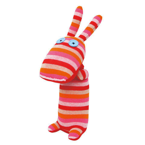 No3no4: Handmade Plush Sock Doll (Lady)