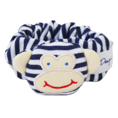 Monkey Wrist Rattle (Navy)