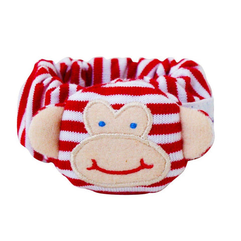 Monkey Wrist Rattle (Red)