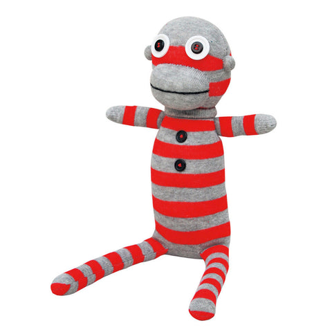 No3no4: Handmade Plush Sock Doll (Mr. Rob)